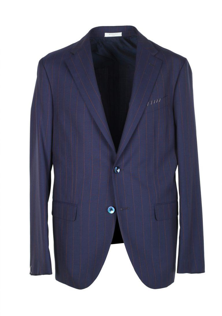 Boglioli 69 Blue Striped Suit - thumbnail | Costume Limité