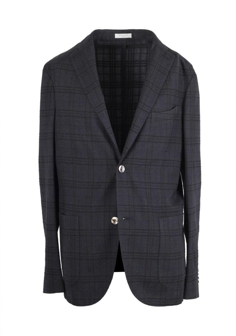 Boglioli K Jacket Gray Checked Sport Coat - thumbnail | Costume Limité
