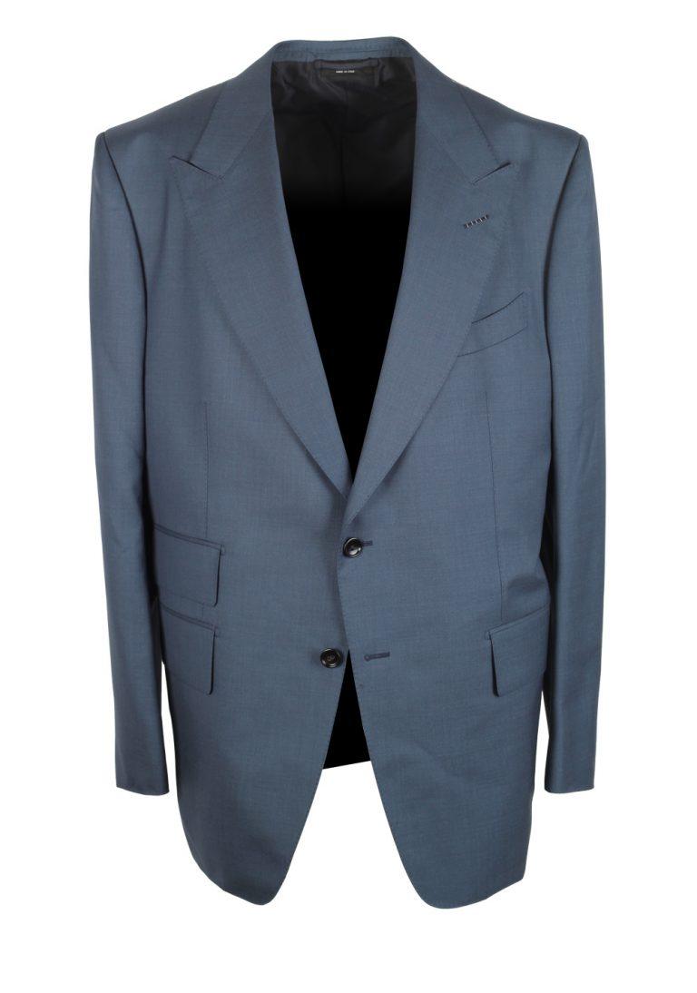 TOM FORD Windsor Blue Suit Size 56 / 46R U.S. Wool Fit A - thumbnail | Costume Limité