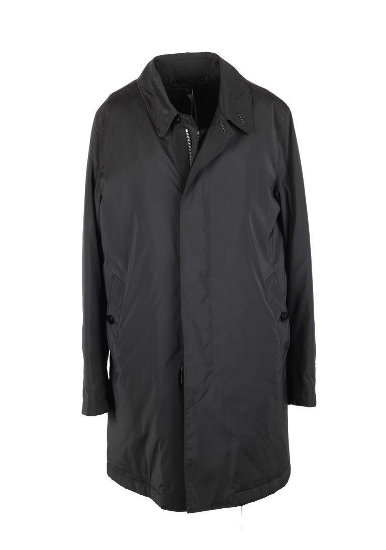 TOM FORD Black Over Rain Jacket Coat Size 50 / 40R U.S. Outerwear - thumbnail | Costume Limité