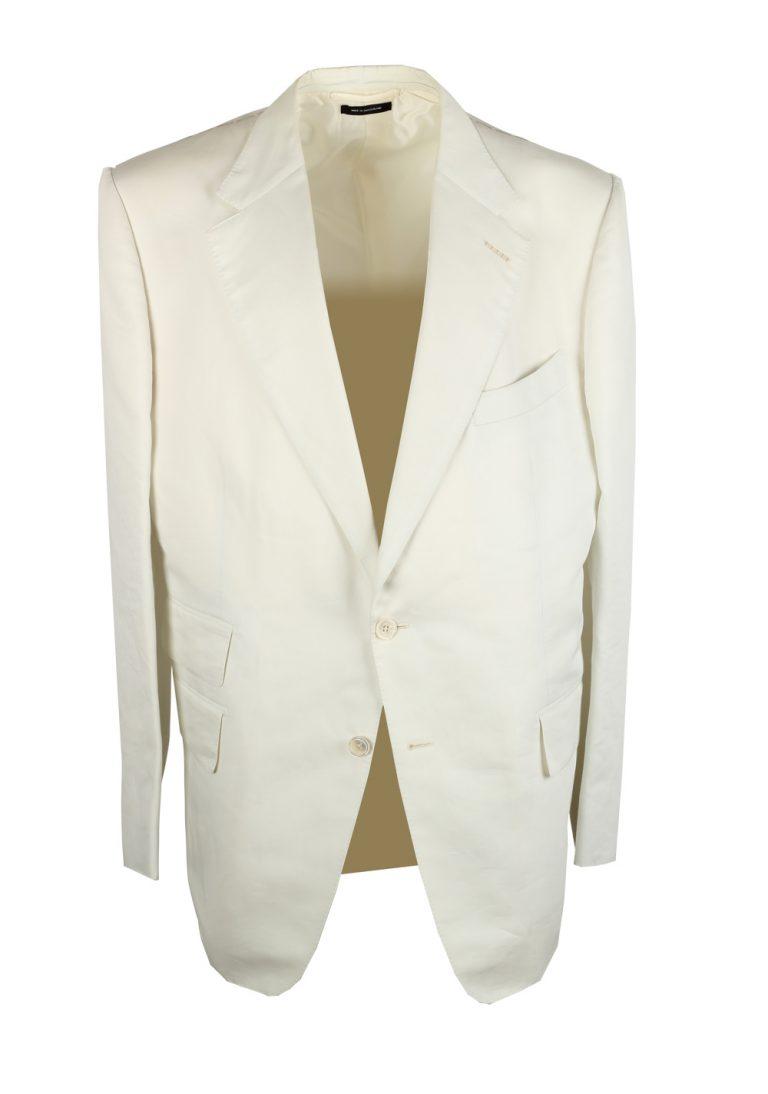 TOM FORD Windsor Off White Suit Size 58 / 48R U.S. Fit A - thumbnail | Costume Limité