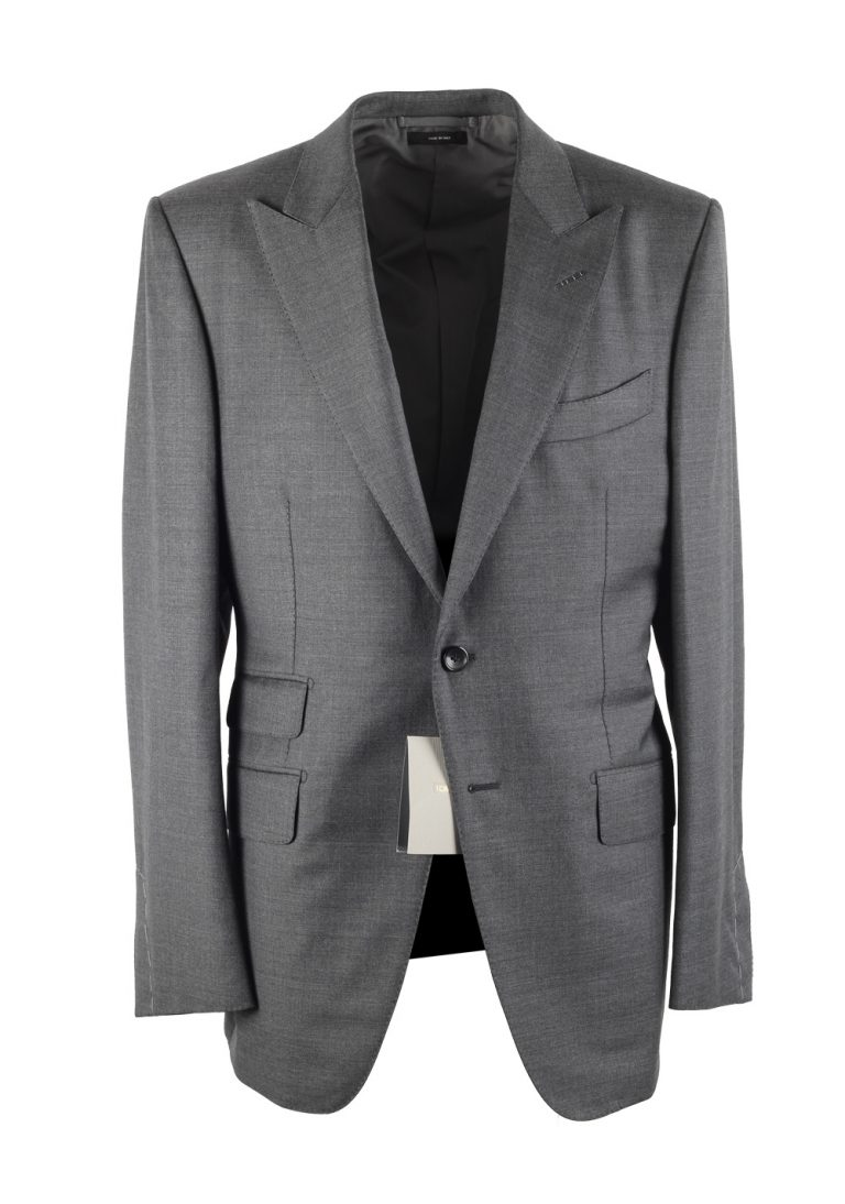 TOM FORD O'Connor Solid Gray Suit - thumbnail | Costume Limité