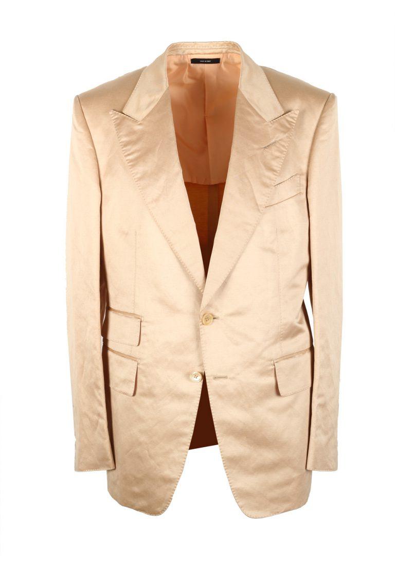 TOM FORD Shelton Gold Sport Coat In Silk Blend - thumbnail | Costume Limité
