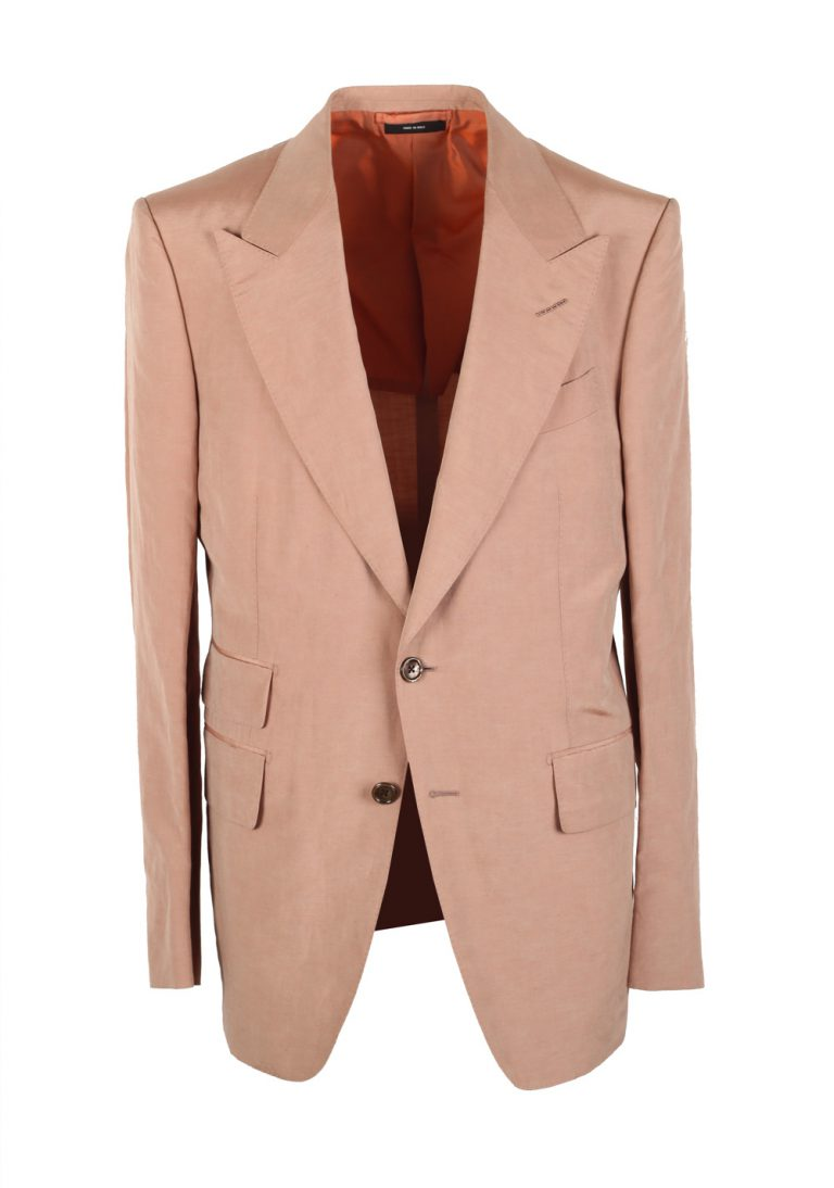 TOM FORD Shelton Beige Sport Coat In Silk Blend - thumbnail | Costume Limité