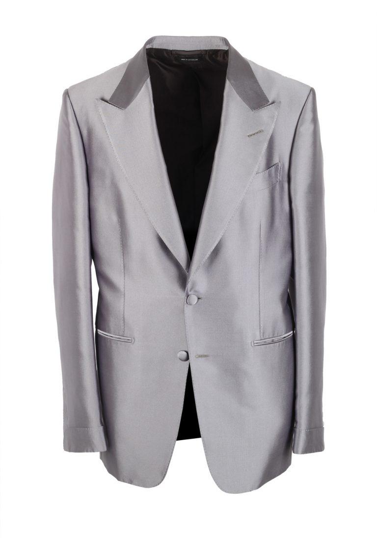 TOM FORD Shelton Silver Sport Coat Tuxedo Dinner Jacket - thumbnail | Costume Limité