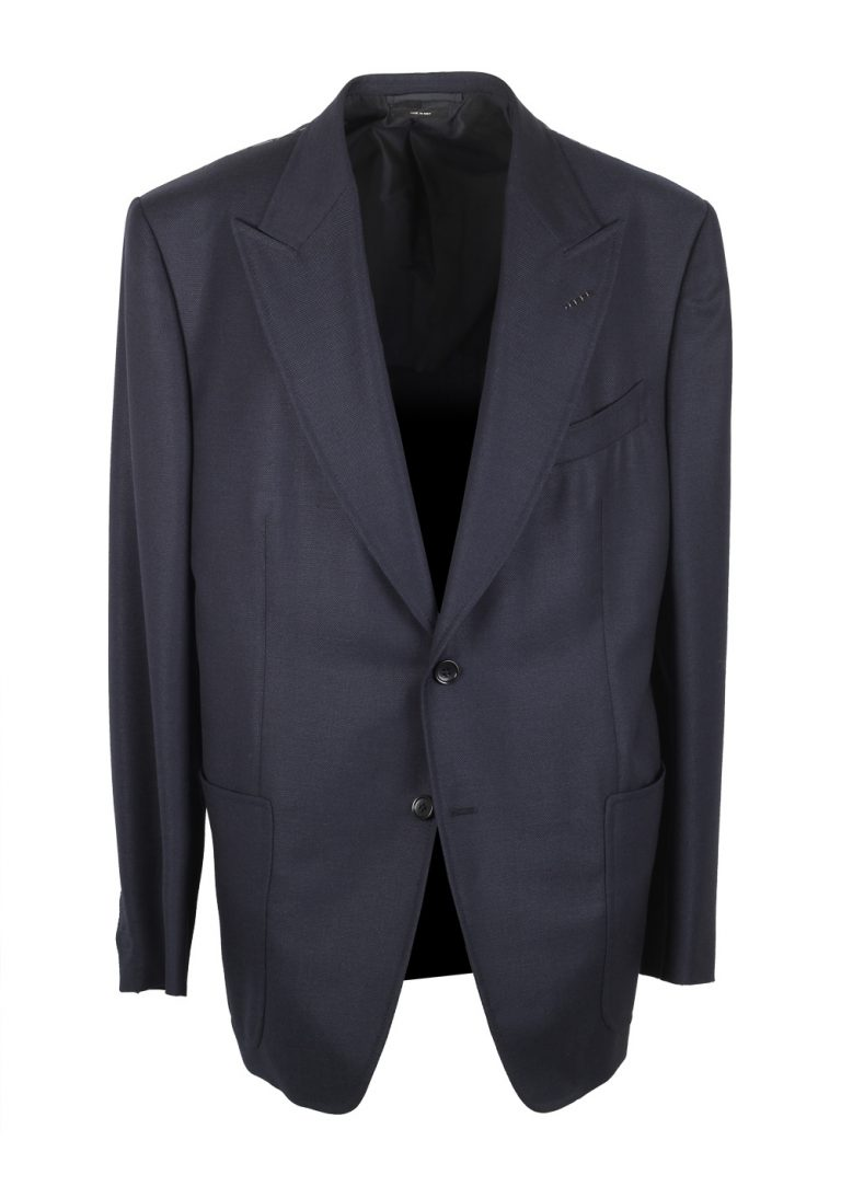 TOM FORD Spencer Blue Sport Coat Size 58 / 48R U.S. Fit D - thumbnail | Costume Limité