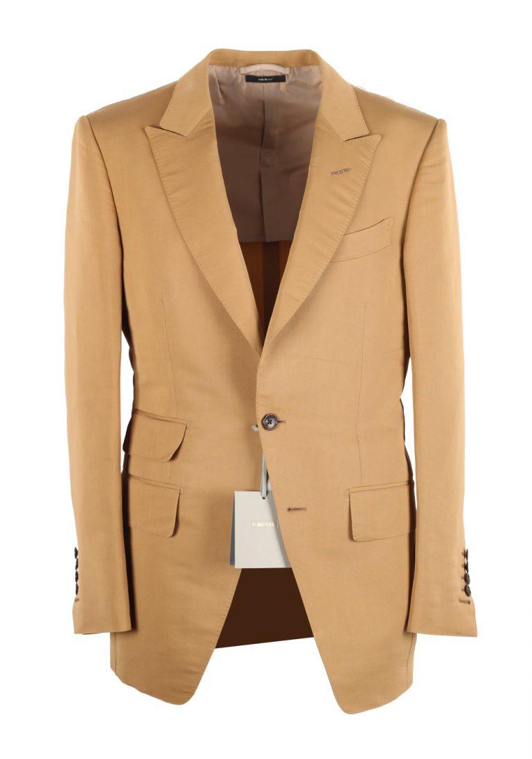 TOM FORD Atticus Beige Sport Coat Size 46 / 36R U.S. - thumbnail | Costume Limité