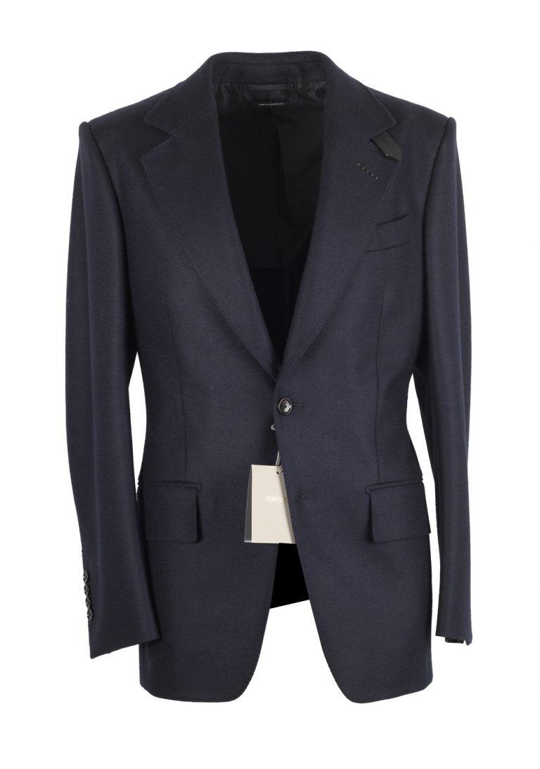 TOM FORD Atticus Blue Sport Coat Size 46 / 36R U.S. - thumbnail | Costume Limité