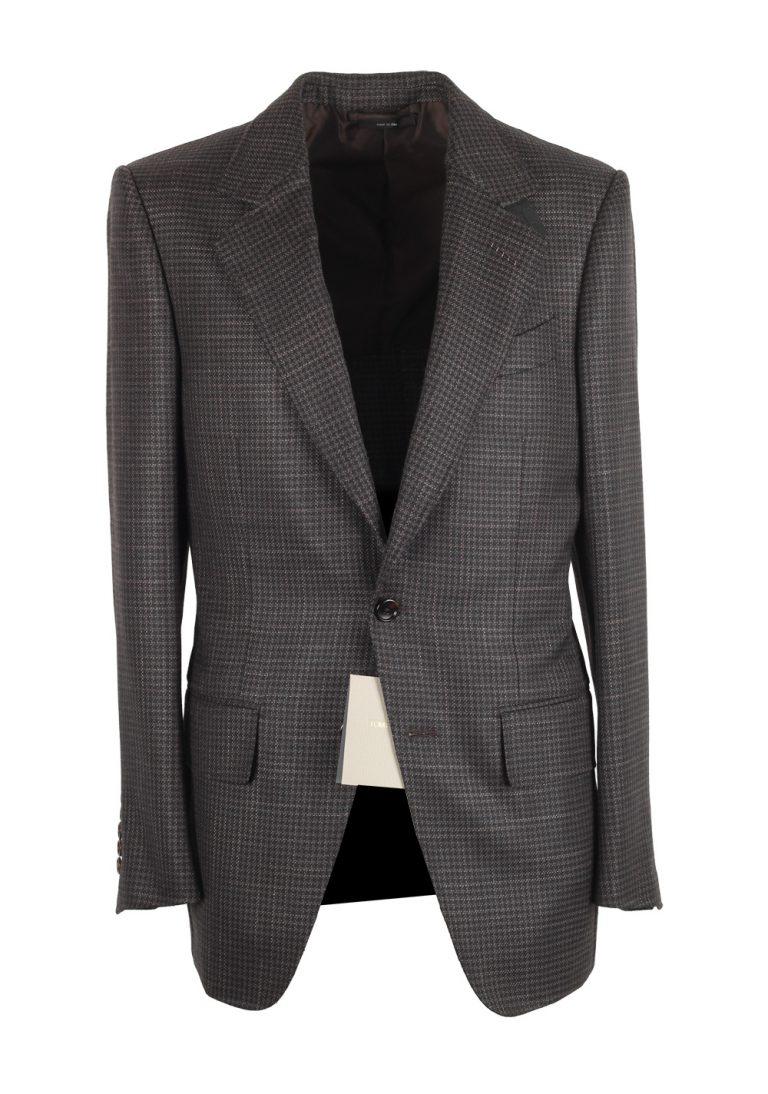 TOM FORD Atticus Brownish Gray Sport Coat Size 46 / 36R U.S. - thumbnail | Costume Limité