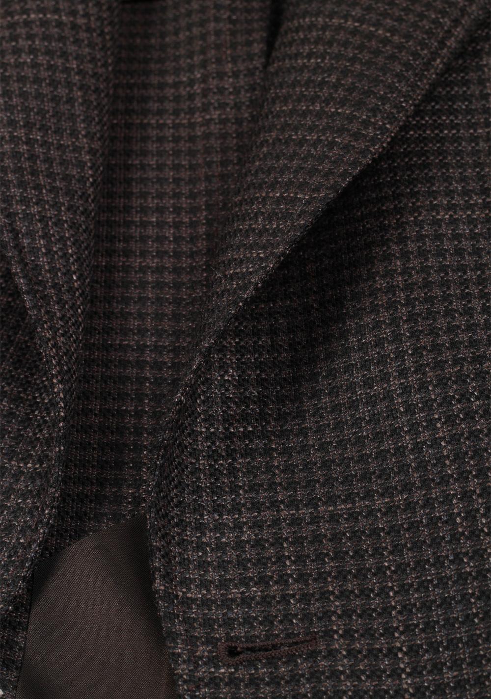 TOM FORD Atticus Brownish Gray Sport Coat Size 46 / 36R U.S.   Costume Limité