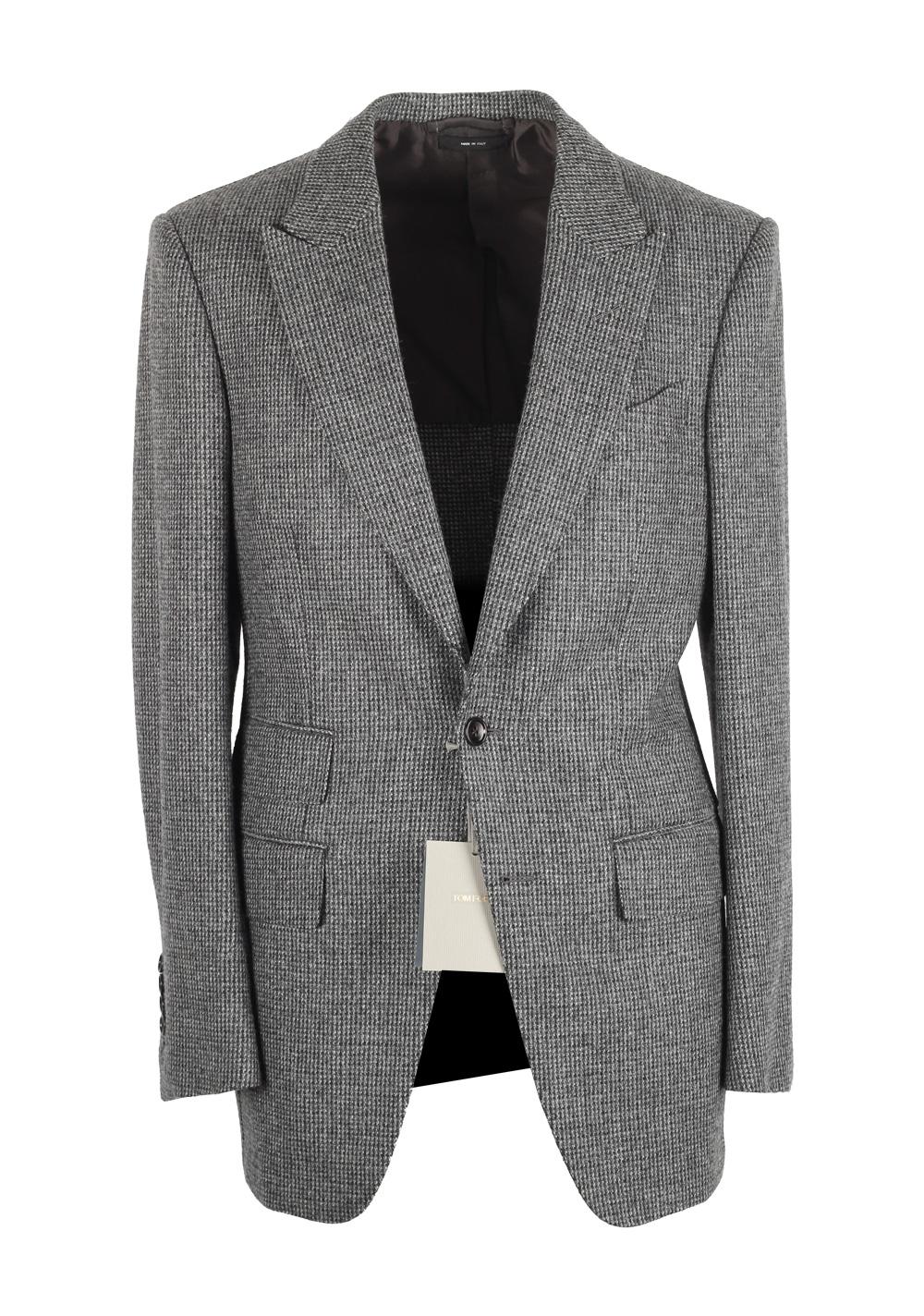 TOM FORD Atticus Gray Sport Coat Size 46 / 36R U.S. | Costume Limité