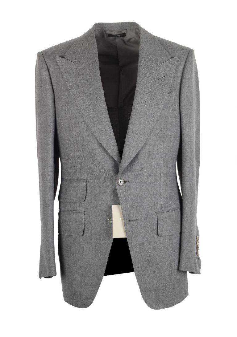 TOM FORD Atticus Gray Suit Size 46 / 36R U.S. - thumbnail | Costume Limité