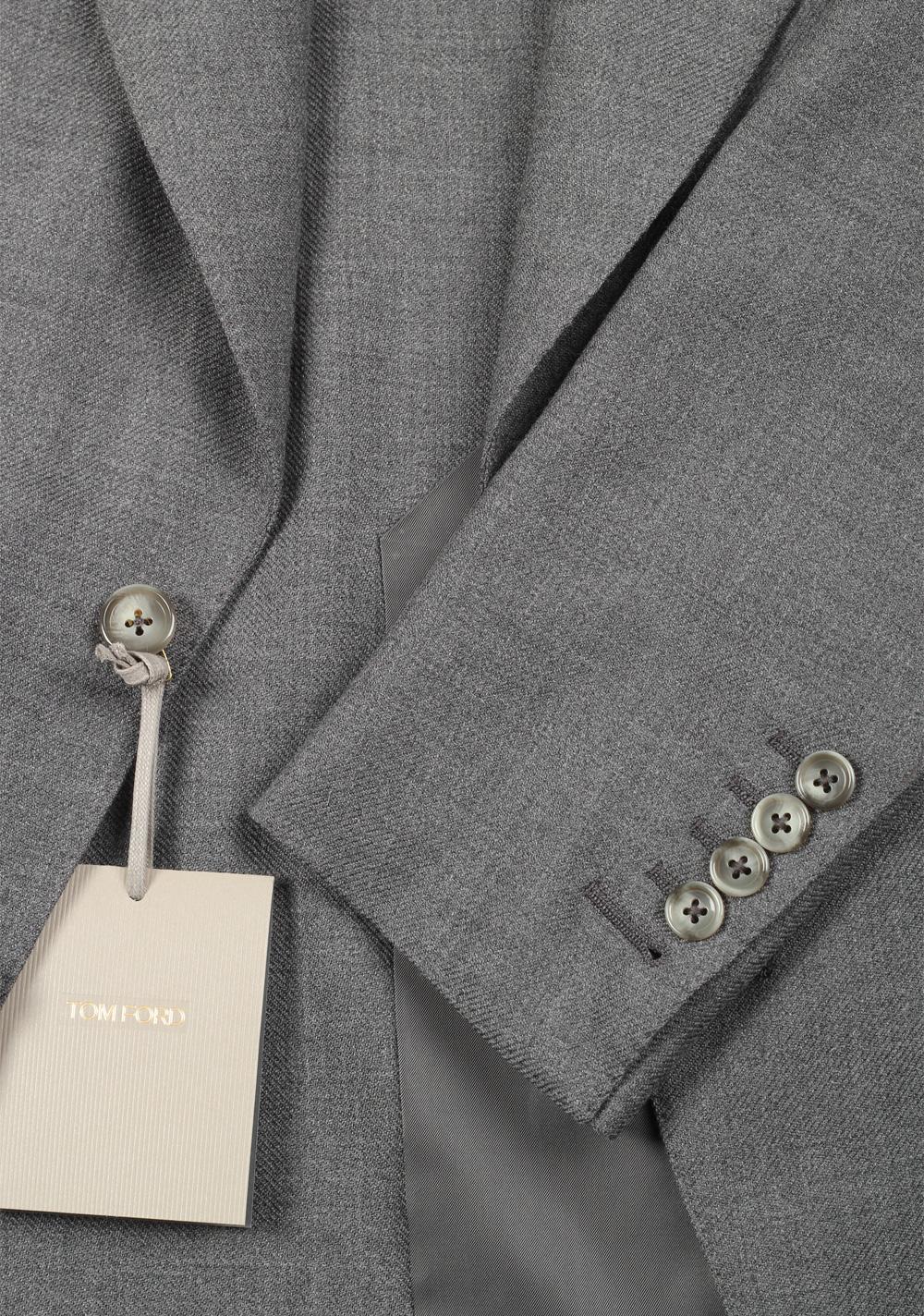 TOM FORD Atticus Gray Suit Size 46 / 36R U.S.   Costume Limité