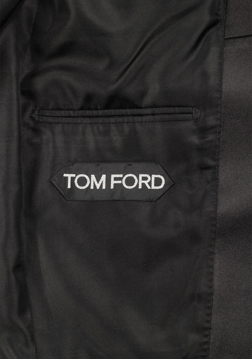 TOM FORD Atticus Black Tuxedo Smoking Suit Size 46C / 36S U.S. | Costume Limité