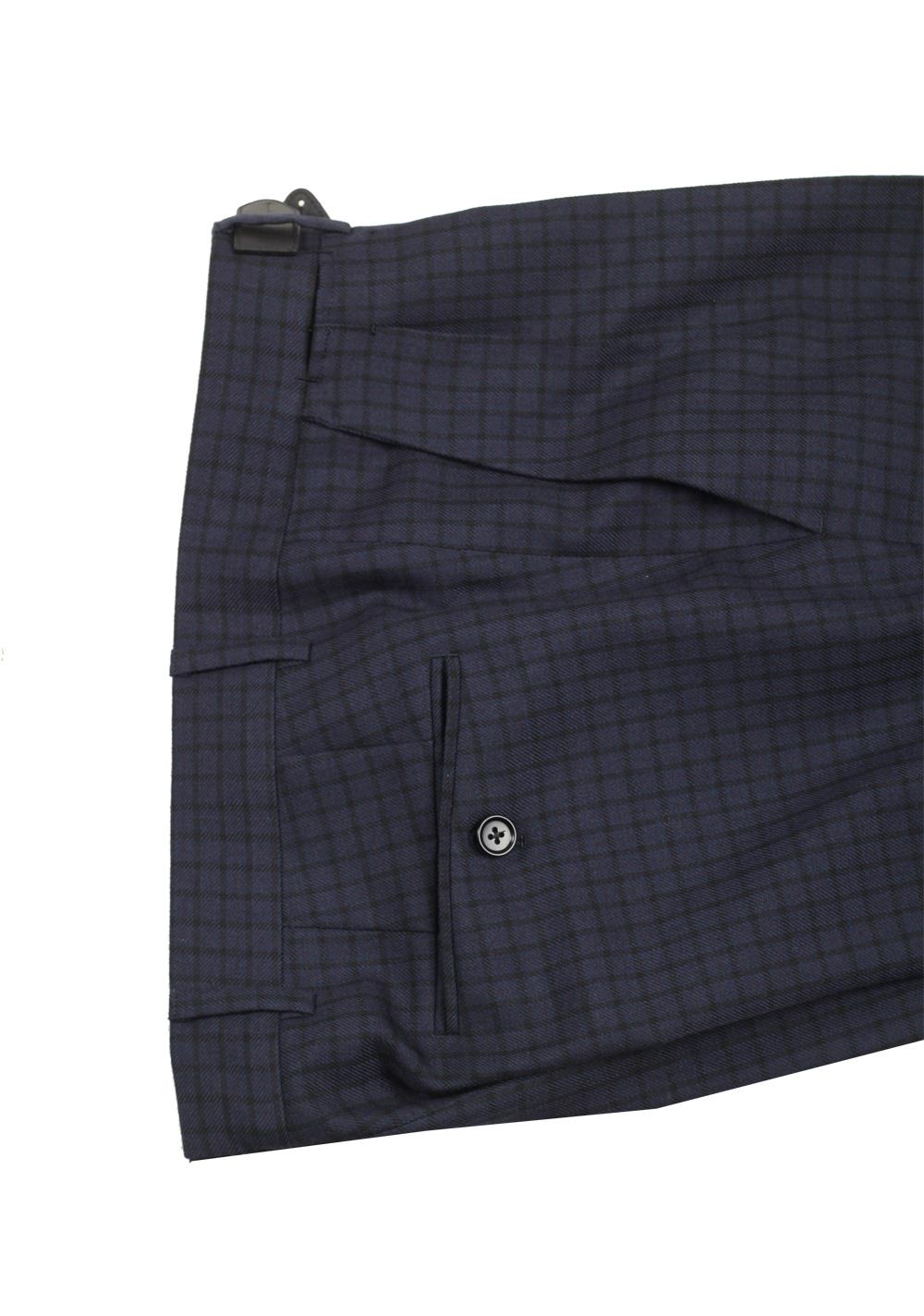 TOM FORD Atticus Blue Checked Suit Size 46 / 36R U.S. | Costume Limité