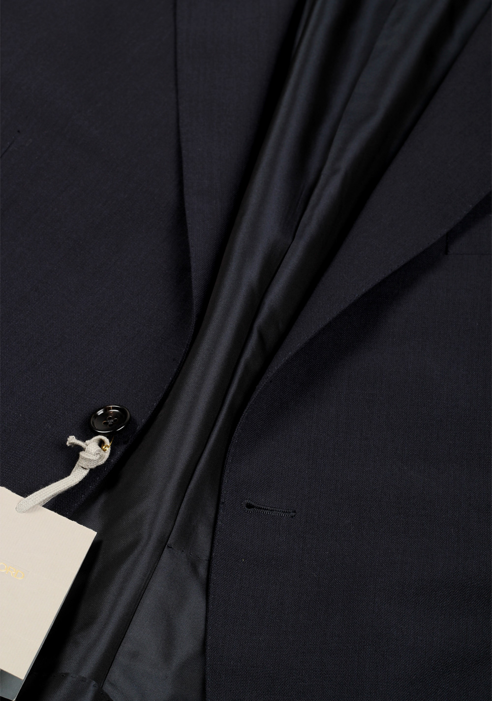 TOM FORD O'Connor Solid Blue Suit Fit Y | Costume Limité