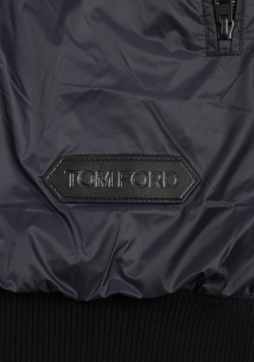 TOM FORD Blue James Bond Spectre Bomber Jacket Size 54 / 44R U.S. | Costume Limité
