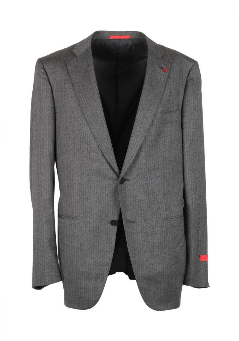 Isaia Suit Size 54 / 44R U.S. Lana Wool Silk Flannel - thumbnail | Costume Limité