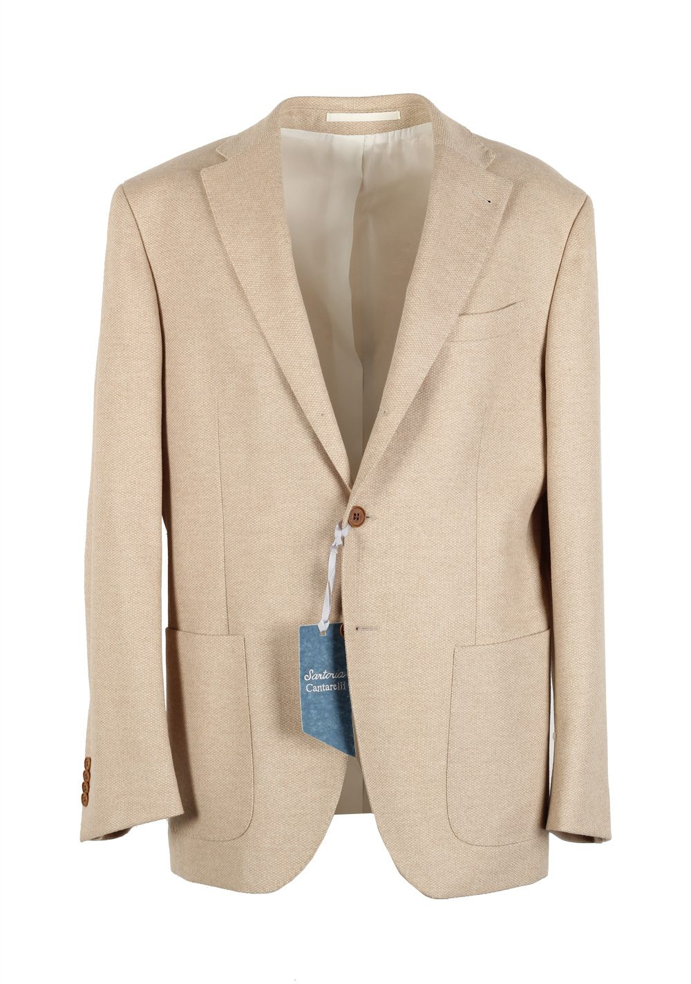 Cantarelli Sport Coat Size 50 / 40R  U.S. Wool Angora Cashgora | Costume Limité