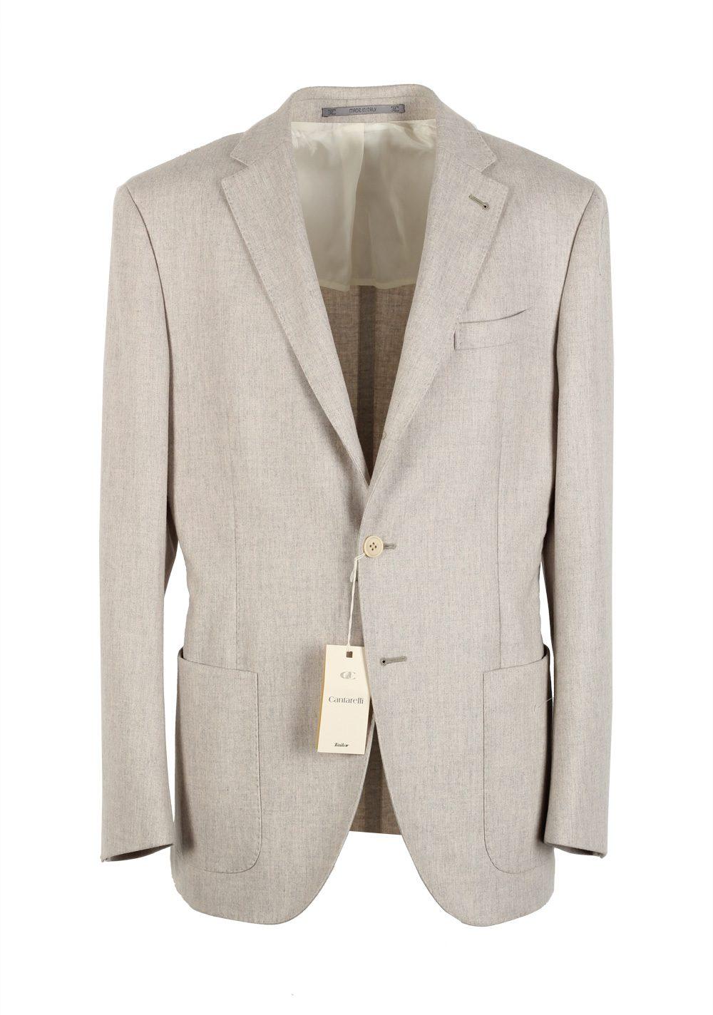 Cantarelli Sport Coat Size 50 / 40R U.S. Wool | Costume Limité