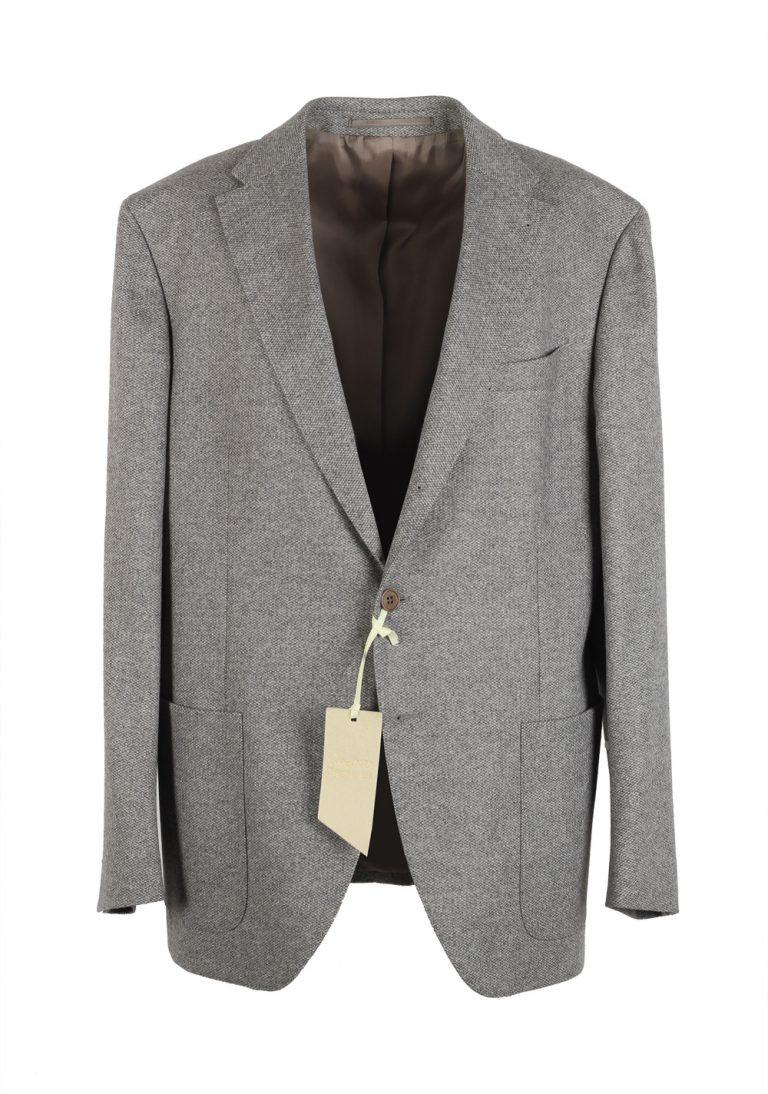 Cantarelli Sport Coat Size 56 / 46R U.S. Wool Angora Cashgora - thumbnail | Costume Limité