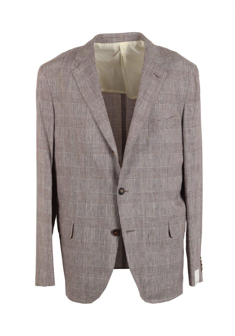 Caruso Sport Coat Size 54 / 44R U.S. Wool Linen - thumbnail | Costume Limité