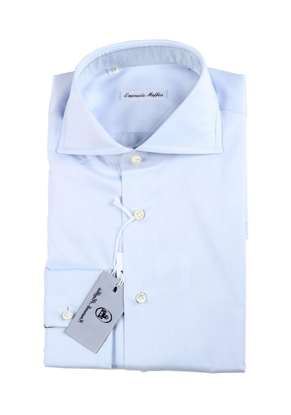 Maffeis 100% Cotton Shirt Size 37 / 14,5  U.S.   Costume Limité