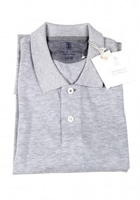 Cucinelli Short Sleeve Polo Size S Linen - thumbnail | Costume Limité